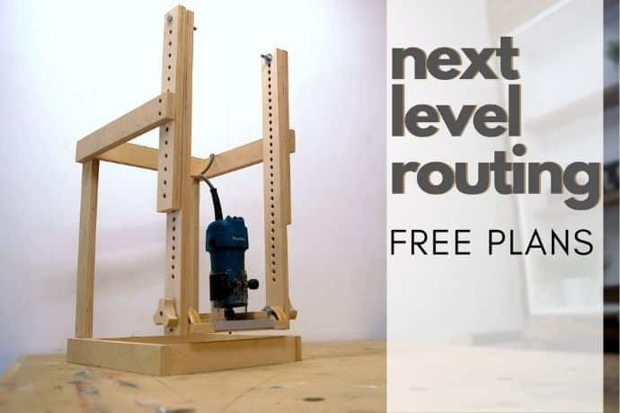 Genius router jig   Discover new possibilities   FREE PLANS