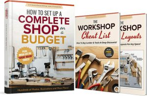 Christofix woodworking DIY maker free plans set up a workshop on a budget