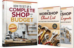 Christofix woodworking DIY maker free plans set up a workshop on a budget
