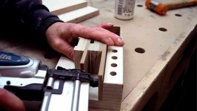 DIY Portable measuring tool center _ FREE PLANS