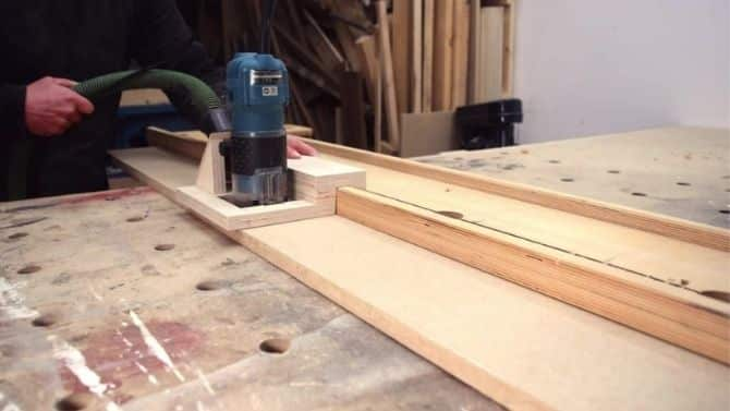 How to make a super simple DIY router guide _ FREE PLANS