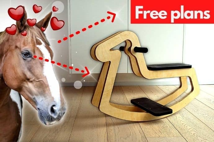 How to make a rocking horse that every kid will love   FREE PLANS