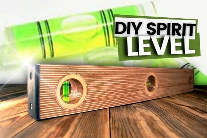 How to make a 2 in 1 DIY spirit level   step-by-step guide
