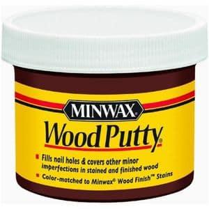 Minwax 13617 3.75 Oz Walnut Wood Putty