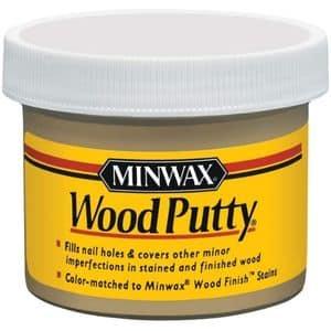 Minwax 13619000 Wood Putty, 3.75 oz, Pickled Oak